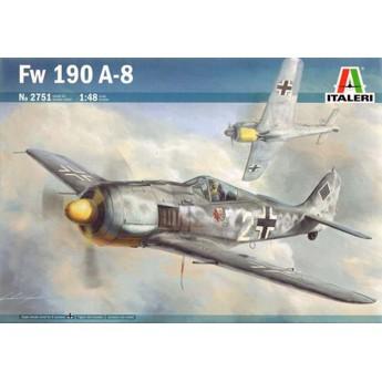 Модель самолета FW190 A-8 (1:48)