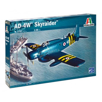 Модель самолета AD-4W Skyraider (1:48)
