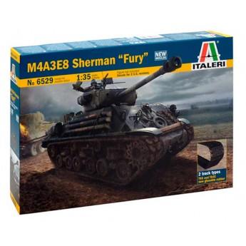 """Модель танка M4A3E8 Sherman """"FURY"""" (1:35)"""