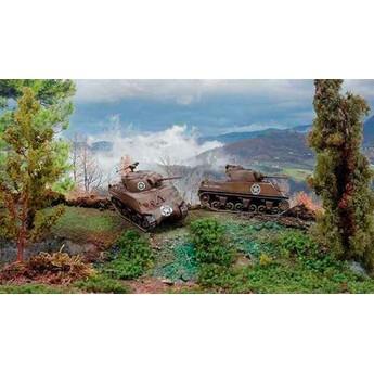 Модель танка M4A3 75mm Sherman (1:72)