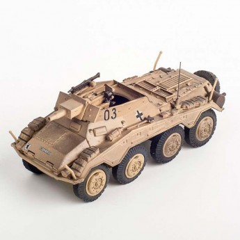 Модель бронеавтомобиля SD.KFZ.234/3, 3.Pz.Div.