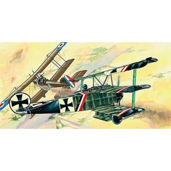 Модель самолета Fokker Dr. 1 (1:48)