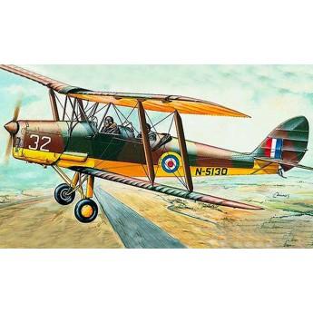 """Модель самолета D.H.82 """" Tiger Moth"""" (1:48)"""