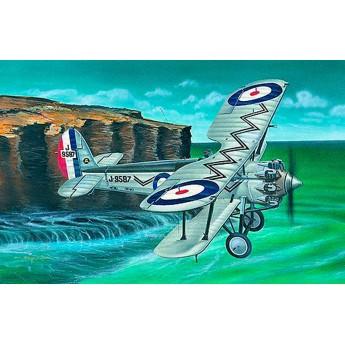 Модель самолета Bristol Bulldog (1:48)