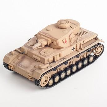 Panzerstahl 88001 Готовая модель танка Panzer IV Ливия 1942 г (1:72)