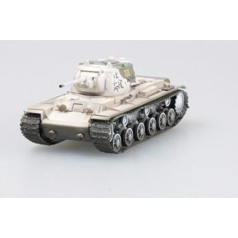 Easy Model 36291 Готовая модель танка КВ-1 Калининский фронт зима 1943 г (1:72)