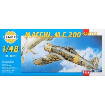 Модель самолета Macchi M.C. 200 Saetta (1:48)