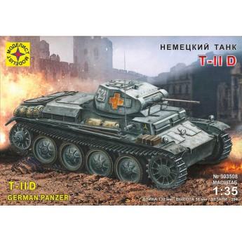 Модель немецкого танка Т II D (1:35)