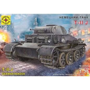 Модель немецкого танка T-II J (1:35)