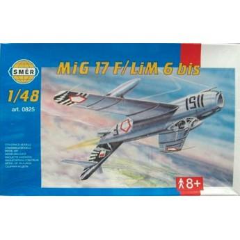 Модель самолета MiG 17 F/ LiM 6 bis (1:48)