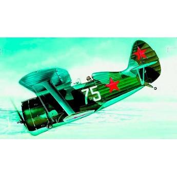 Модель самолета I-153 Chayka (1:72)