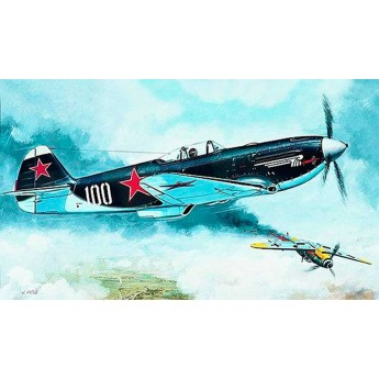 Модель самолета Yakovlev Yak 3 (1:72)