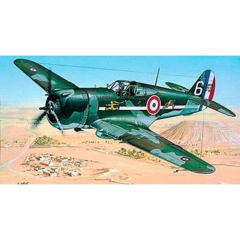 Модель самолета Curtiss P-36/H.75 Hawk (1:72)