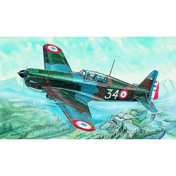 Модель самолета Моран Сольнье MS 406 (1:72)