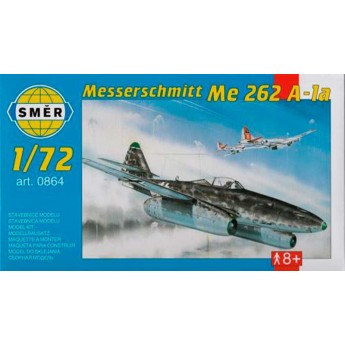 Модель самолета Мессершмитт Me 262 A (1:72)