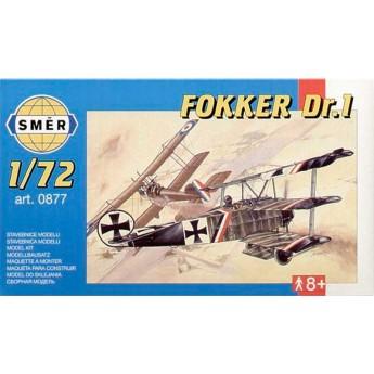 Модель самолета Fokker Dr.I (1:72)
