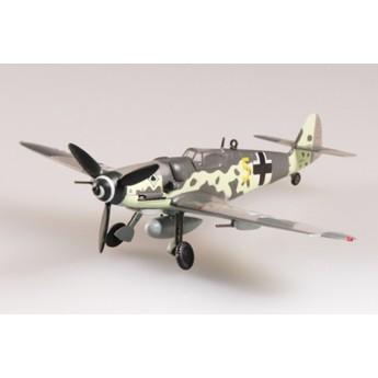 Модель самолета Мессершмитт BF-109G-6 JG53 1945 г. Германия (1:72)