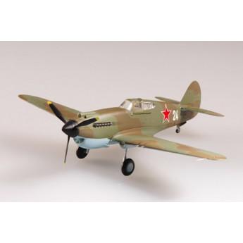 """Модель самолета """"Томагавк"""" IIb 154-й ИАП авиации ВМФ, 1942 г. (1:72)"""