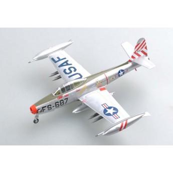 """Easy Model 37108 Готовая модель самолета F-84E """"SANDY"""" 9th FBS 49th FBW 1951 г (1:72)"""