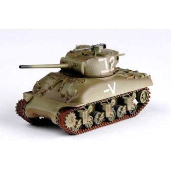Easy Model 36250 Готовая модель танка M4 Sherman M4A1(76)W Israeli Armored Brigade (1:72)
