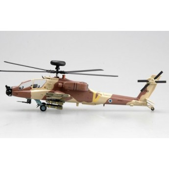 Easy Model 37032 Готовая модель вертолета AH-64 ВВС Израиля №966 (1:72)