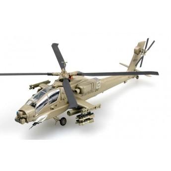 """Easy Model 37028 Готовая модель вертолета АН-64А """"Апач"""" 1-я дивизия Ирак 2004 г (1:72)"""