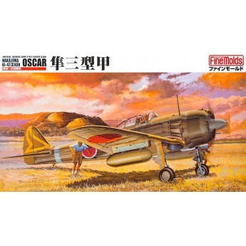 "Модель самолета IJA Type1 Fighter ""Oscar"" (Ki-43 III Koh) (1:48)"