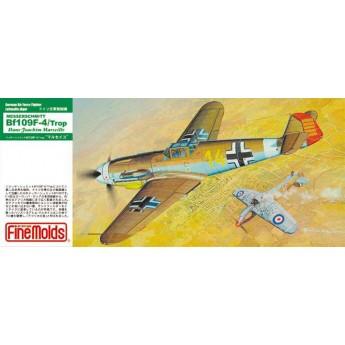 "Модель самолета Messerschmitt Bf109 F-4 Trop ""Marseille"" (1:72)"