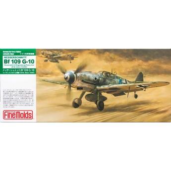 Модель самолета Bf109 G-10 Regensburg Production (W.Nr. Block 13000) (1:72)