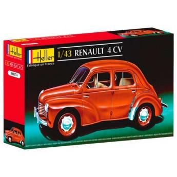 Модель автомобиля Рено 4 CV (1:43)