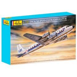 Heller 80315 Сборная модель самолета DC6 Супер Глобемастер (1:72)