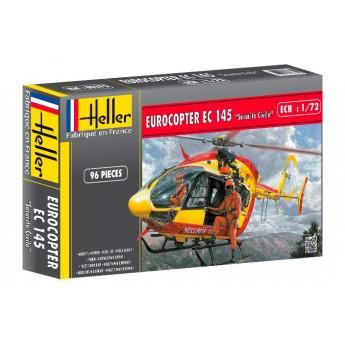 Модель вертолета ЕС-145 (1:72)