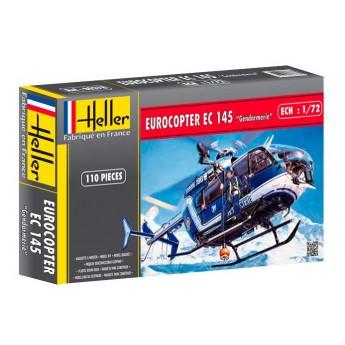 Модель вертолета ЕС-145 Жандармерия (1:72)