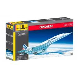 Heller 80445 Сборная модель самолета Конкорд A.F. (1:125)