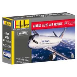 Heller 80448 Сборная модель самолета Аэробус А320 AIR FRANCE (1:125)