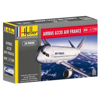 Модель самолета Аэробус А320 AIR FRANCE (1:125)