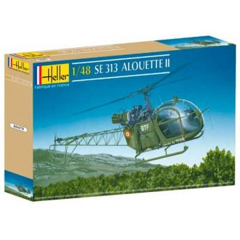 Модель вертолета SE 313 Алуэтт II (1:48)