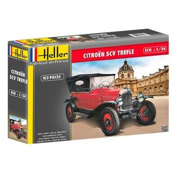 Heller 80702 Сборная модель автомобиля CITROEN TREFLE (1:24)
