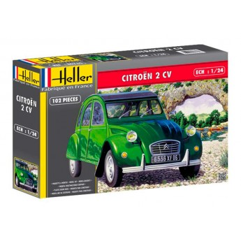 Модель автомобиля Ситроен 2 CV (1:24)