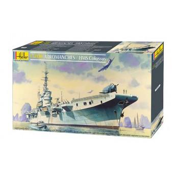 Модель корабля ARROMANCHES / HMS COLOSSUS (1:400)