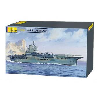 Модель корабля HMS Illustrious (1:400)