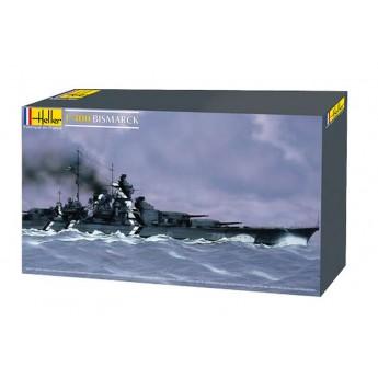 Модель линкора Бисмарк (1:400)