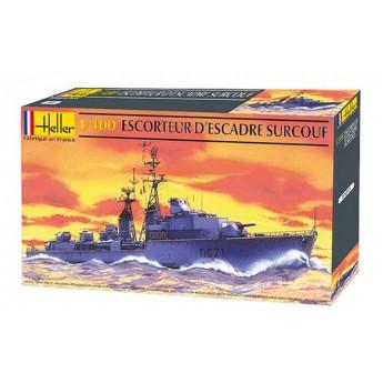 Модель корабля ESCORTEUR D'ESCADRE SURCOUF (1:400)