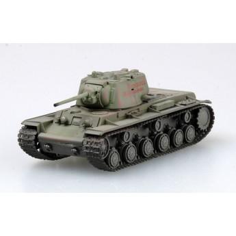 Easy Model 36289 Готовая модель танка КВ-1 Восточный фронт 1942 г (1:72)