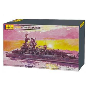 Модель корабля Адмирал Шеер (1:400)