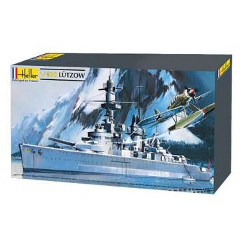 Модель корабля Лютцов (1:400)