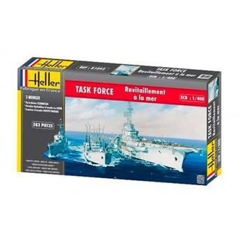 "Модель корабля TASK FORCE ""Ravitaillement a la Mer"" (1:400)"