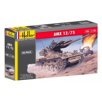 Heller 81122 Сборная модель танка AMX 13/75 Lance SS11 (1:35)