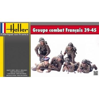 Солдаты GROUPE DE COMBAT Franсais 39-45 (1:35)