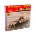 """Моделист ПН170074 Модель атомного подводного крейсера """"Омск"""". Подарочный набор (1:700)"""